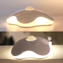Stick Anywhere Battery Powered/Chargeable Mini Wall Night Light in Flower Shape