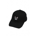 Cute Dog Embroidered Chic Unisex Baseball Hat