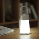 Portable White Vintage Chargeable Lantern LED Night Light