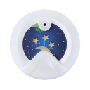 Moon and Star Motion-Activated Plug-in Led Kids Room Night Light