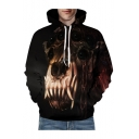 3D Printed Long Sleeve Unisex Leisure Fashion Hoodie