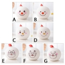 Super Bright Silicon Snowman/Santa Claus Baby Kids LED Night Light 7 Types for Choice