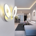 Applique murale LED pour enfants avec oreilles de lapin mignonnes