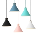 LED Light Adjustable Hanging Lamp for Study Room Various Colors Available