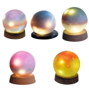 Handmade Ore Coloful Globe Nebula Night Light 5 Colors Available