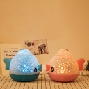 Stand Anywhere Sparking Star Fish Shade Kids LED Nightlight in Blue/Pink