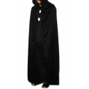 Halloween Cosplay Plain Tunic Hooded Cape