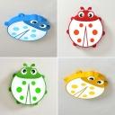 Acrylic Ladybug Flush Light Fixture Animals&Insects Baby Room Kindergarten LED Ceiling Light