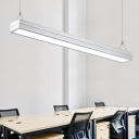 Architectural Slim Linear Fixture LED Pendant Lights L48