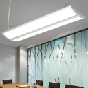 Modern Office Lighting Design Aluminum Energy Saving 18W Led High Bay Pendant Light L48