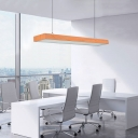 Modern Minimalist Round Corners and Linear Fixture 48