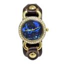 Diamante Constellation Printed Leather Quartz Watch