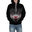 Terror Clown Printed Long Sleeve Fashion Hoodie