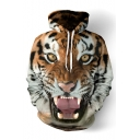 3D Tiger Printed Long Sleeve Loose Unisex Hoodie