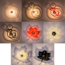 Simple Nature Style Ambient LED Light Wall Sconce for Living Room Kids Room in Four Colors