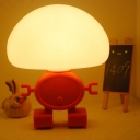 Modern Style Robot Shape Mini LED Night Light for Child's Bedroom