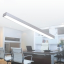 Modern Silver Finish Office LED Lighting Designs 23.62