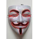 Stylish LED Light Character Pattern Mask