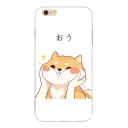 Cartoon Shiba Inu Japanese Printed Mobile Phone Cases for iPhone
