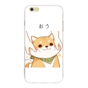 Japanese Cartoon Dog Printed Mobile Phone Cases for iPhone