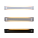 High Bright Modern Led Wall Light Satin Aluminum Linear Wall Light 9W Energy Saving Home Deco Wall Mounted Lights for Bedroom Bathroom Living Room