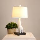 Giraffe Table Lamp By Designer Lighting In White