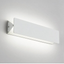 Adjustable Head Modern Wall Light White Finish Rectangular Led Indirect Wall Light 5W-15W Aluminum Decorative Swivel Sconces 3 Size Available