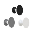 Nordic Creative Style Round Led Wall Lights 6W-10W Metal Decorative Circle Led Ambient Wall Sconce with Frosted Glass Shade Suitable for Bedroom Restaurant Cafe Bar
