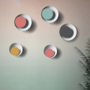 Macaroon Eclipse Shaped Led Wall Light 10.23