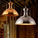 Post Modern Barn Shape Rose Gold/Bronze Finish Single Light Pendant for Kitchen Bedroom