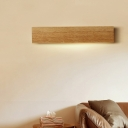 Wood Grain Color Changeable Led Linear Wall Fixture 15.75