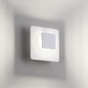Eclipse Square Led Wall Light Acrylic 5.51