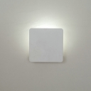 Vertical Frame White Led Wall Sconce 5W Inside-out Led Wall Light 5.51
