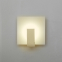 Accent Minimalist Square Led Wall Light 5.90