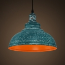 Industrial Pendant Light in Barn Style with 15.75''W Metal Shade