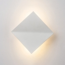 Creative Designers Lighting Warm White Light Led Square Wall Lights 6W Aluminum 7.87