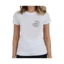Lovely Cartoon Dinosaur Print Round Neck Short Sleeve T-Shirt