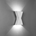 Matte Black/White Integrated LED Wall Lights Aluminum 5W Low Voltage Geometric Art Deco Sconces for Bathroom Bedroom Corridor Foyer