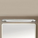 Contemporary Bathroom Wall Lights Chrome LED Swivel Vanity Light 19.69
