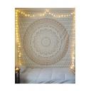 Stylish Mandala Tapestry Wall Hanging Curtain