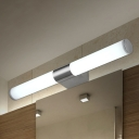 Stainless Steel Antifogging Vanity Light 8W-24W High Bright LED Warm White Bath Bar Lighting in Silver 5 Sizes for Option