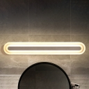 11/17/23/29W High Brightness LED Linear Wall Light Modern Bath Mirror Acrylic Vanity Lighting in White Finish (15.75