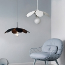 Indoor Black/White Single Light Pendant Light in Nordic style