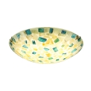Mosaic Design Handmade Shell Shade Ceiling Light Fixture 2 Designs Available
