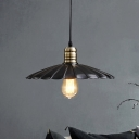 Indoor Single Black Pendant Lamp 10