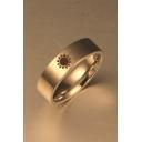 Cool Sun Print Unisex Ring for Man