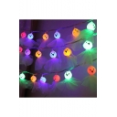 Halloween Multi Color Ghost String Lights