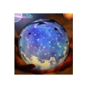Fancy Universe Rotating Globe Starlight USB Connection Battery Projection Lamp