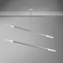 Contemporary Rotating Chandelier 2 Light/4 Light/6 Light LED Sticks LED Chandelier 2/4/6W 39.37