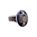 Royal Vampire Jewel Sliver Ring